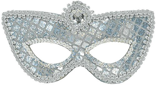The Costumes Duchess Movie (Grand Silver Sequin Mask)