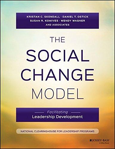 The Social Change Model: Facilitating Leadership Development (Development Social Change compare prices)