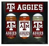 8 Pack TEXAS A & M Aggies Boxed Set of 3 (Cajun Seas,Stk/Rib Rub, BBQ Rub)
