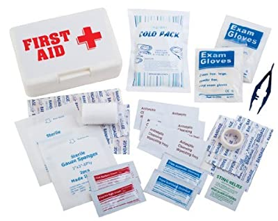 Champion Sports First Aid Kit (White) from Champion Sports
