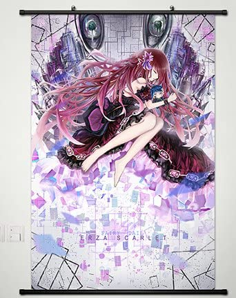 Home Decor Anime Fairy Tail Cosplay Wall Scroll Poster Fabric Painting Sexy Erza Scarlet 23.6 X 35.4 Inches-202 by CoSmile: Amazon.es: Hogar