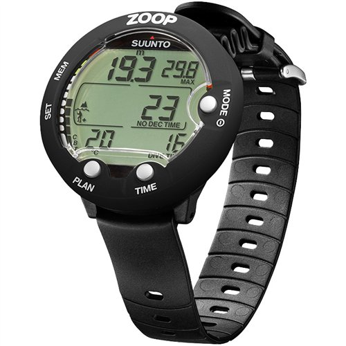 SUUNTO Zoop 2 Gauge Scuba Diving Console, Black