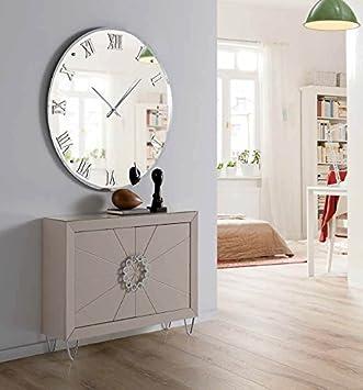 Relojes de pared modernos decorativos reloj de pared with relojes de pared originales - Espejos decorativos amazon ...