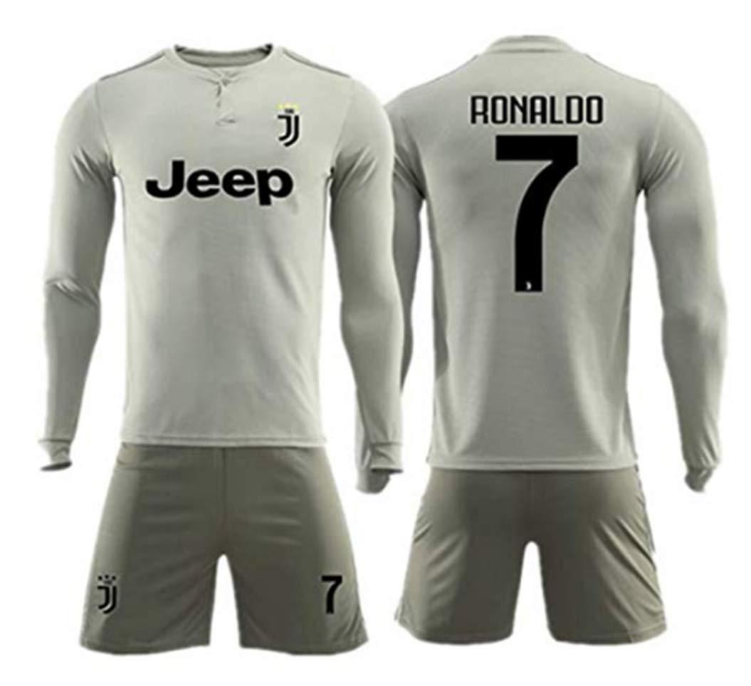 detailed look caec8 f154a Amazon.com : ZZXYSY Cristiano Ronaldo #7 Juventus Men's Away ...
