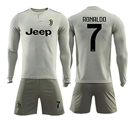detailed look e3f99 48bde Amazon.com : ZZXYSY Cristiano Ronaldo #7 Juventus Men's Away ...