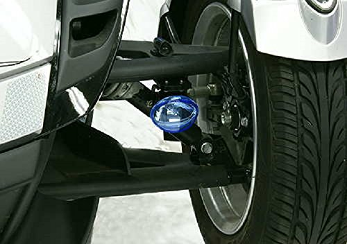 BlingLights Compatible Can-Am Spyder Cyber White Auxiliary Driving Lights Lamps Kit