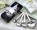 50 ''Love Beyond Measure'' Heart-Shaped Measuring Spoons in Gift Box