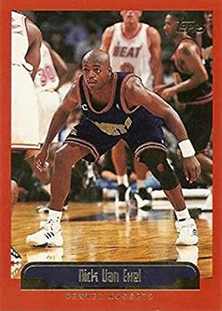 cheap for discount 50b49 22aa9 Amazon.com: Basketball NBA 1999-00 Topps #46 Nick Van Exel ...
