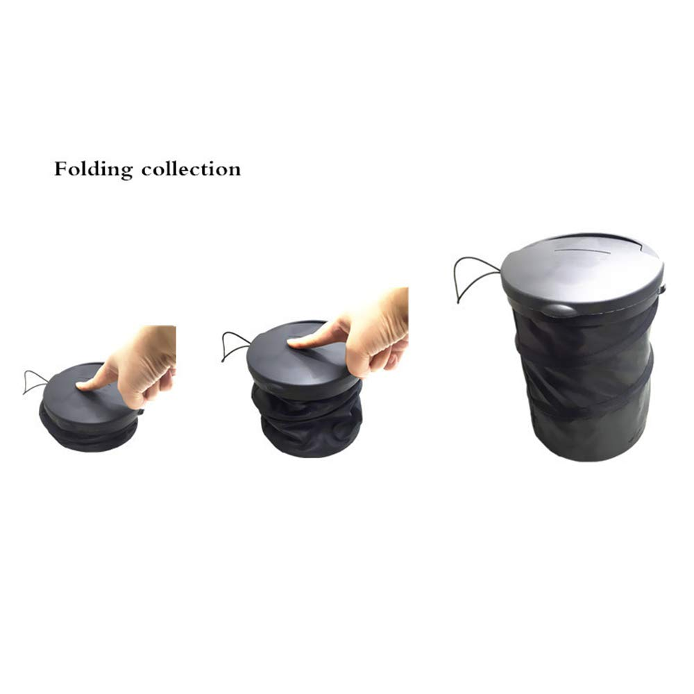 Hmmedsmoothly Garbage Car Garbage Cans Car Garbage Cases Organizer Seat Bag Storage Waste Auto Interior for Cars