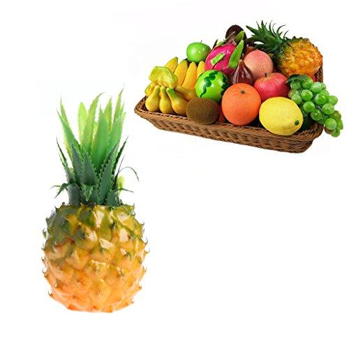 Aixia Foam Artificial Fruit Simulation Fake Pineapple Home Wedding Party Garden Decor from Aixia