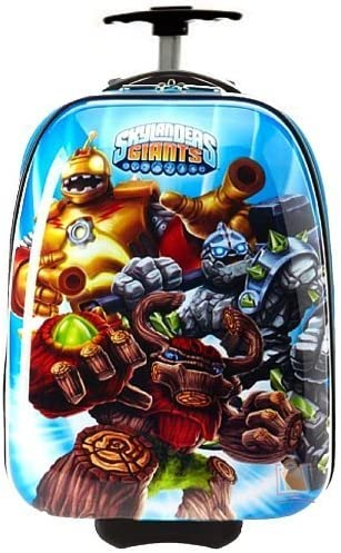 Skylanders New Light Weight Giants 17 ABS Rolling Carry-On Hard Shell Luggage