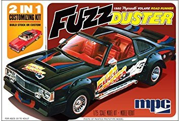 MPC 843 1980 Plymouth Volare Fuzz Duster Model kit