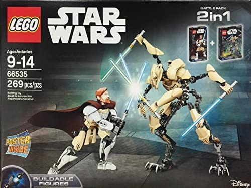 LEGO Star Wars 66535 Obi-Wan Kenobi vs. General Grievous Battle ...