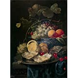 Canvas Prints Of Oil Painting ' Son Joris Van Bodegon 1664 ' , 12 x 16 inch / 30 x 42 cm , High Quality Polyster Canvas Is For Gifts And Basement, Garage And Gym Decoration, gallery wall