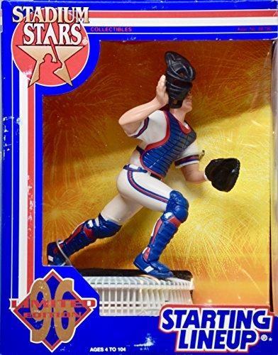 Stadium Fulton Atlanta (1996 - Kenner/Starting Lineup - MLB - Stadium Stars - Javy Lopez #8 Atlanta Braves - OOP - Collectible)