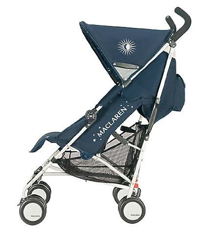 Amazon.com: Maclaren Quest carriola Zodiac Navy/Silver: Baby