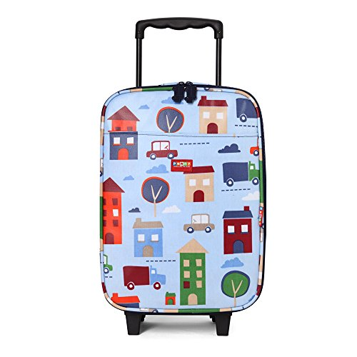 Penny Scallan Wheelie Bag, Big City by Penny Scallan