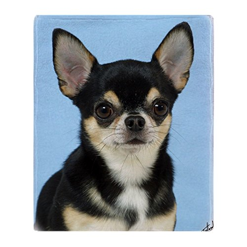 CafePress Chihuahua 9W092D 057 Soft Fleece Throw Blanket, 50