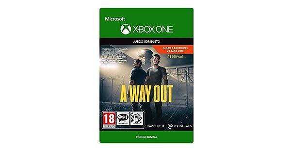 A Way Out Standard | Xbox One - Código de descarga: Amazon.es ...