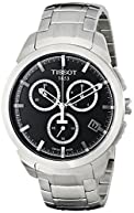 Tissot Men's T0694174405100 Analog Display Swiss Quartz Silver Watch