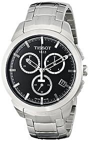 Tissot Men's T0694174405100 Analog Display Swiss Quartz Silver Watch