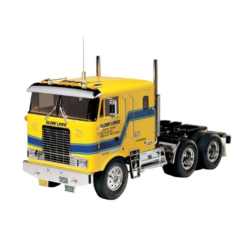 Tamiya America, Inc 1/14 Globe Liner Semi Kit, TAM56304 (Tamiya Trucks)