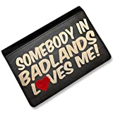 RFID Passport Holder Somebody in Badlands Loves me, South Dakota, National park