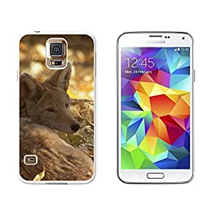 New Style Coyote - Wild Dog - Snap On Hard Protective Case for Samsung Galaxy S5 - White
