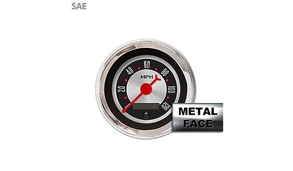 Aurora Instruments GAR2137ZEXHABBE American Retro Rodder II Speedometer Gauge