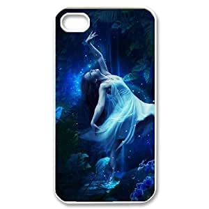 Hard Shell Case Of Night Fairy Customized Bumper Plastic case For Iphone 4/4s