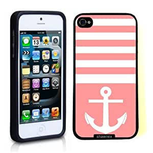 Case For Sam Sung Galaxy S4 Mini Cover Thinshell Case Protective Case For Sam Sung Galaxy S4 Mini Cover Anchor Nautical Stripes