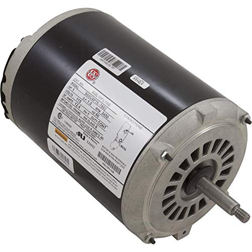 Motor, Emerson, 1.0hp, Thru Bolt, 1-SPD, 115v, 12A, Heat Transfer