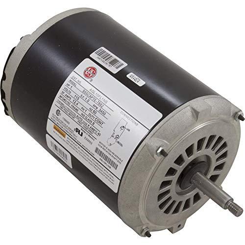 - Motor, Emerson, 1.0hp, Thru Bolt, 1-SPD, 115v, 12A, Heat Transfer