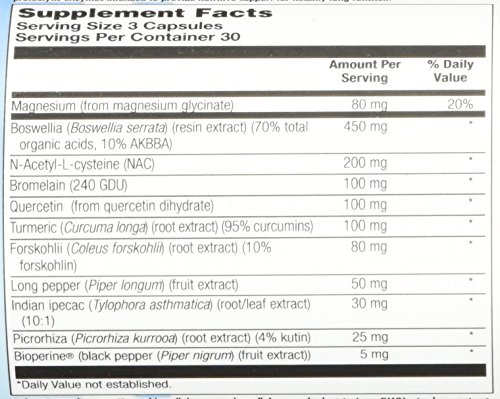 BioGenesis Pulmonary Factors Veg Capsules, 90 Count