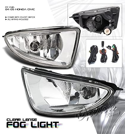 Beautiful Fog Light   Honda Civic 2004 2005 2/4 Door