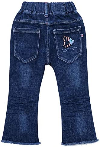 Capturelove Premium Pull On Jeans for Toddlers Kids and Teens