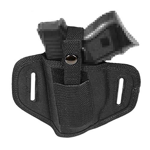 cealed Carry Compact Gun Paddle Belt Holster Glock Ruger XD - Black ()