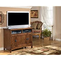 Ashley Furniture Signature Design - Cross Island - 42 in - TV Stand - Medium Brown