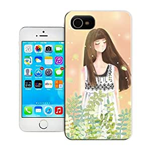 Unique Phone Case Watercolor girl#20 Hard Cover for 5.5 inches iphone 6 plus cases-buythecase