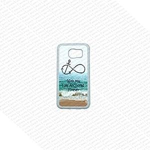 Samsung Galaxy S6 Case, Cute Samsung Galaxy S6 Cover,Forever Anchored Samsung Galaxy S6 Case, Galaxy S6 Case, Cool Galaxy S6 Case