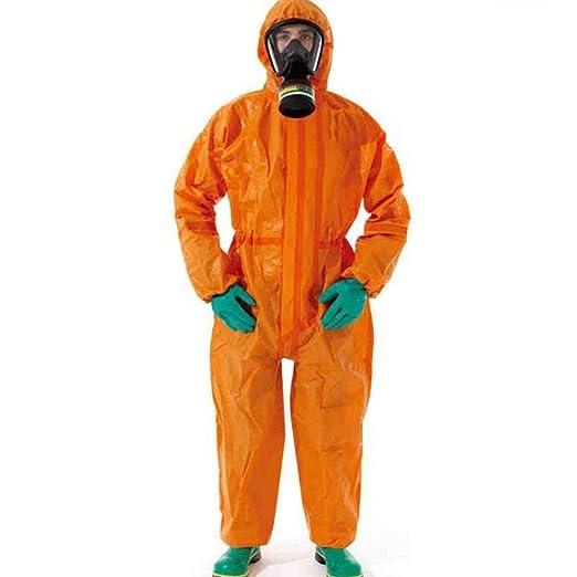 El traje de protección, protectores de ácidos Protección química ...