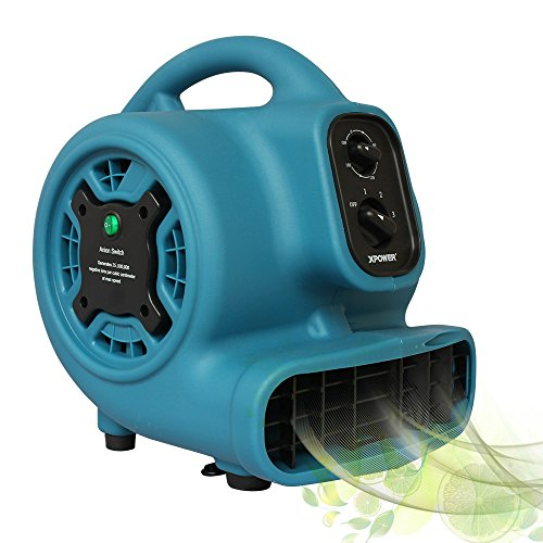 (XPOWER Freshen Aire P-250NT 1/5 HP Scented Air Mover Freshener with Ionizer &)