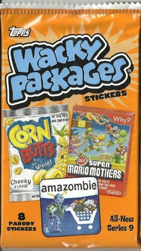 TOPPS WACKY PACKAGES SERIES 9 STICKER Pack ()