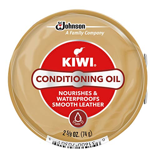 KIWI Conditioning Oil 2.625 oz (Leather Conditioner For Shoes)