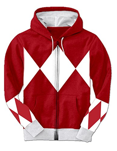 Red P (Power Rangers Costumes Red)