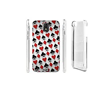 FUNDA CARCASA PATTERN POKER PARA SAMSUNG GALAXY NOTE 3 N9005