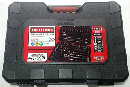 Empty Replacement Case for Craftsman 230 Piece Mechanic's Tool Set 99920