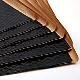 Noico Black 80 Mil 36 Sq Ft Car Sound Deadening, butyl automotive deadener restoration mat and Noise dampening insulation