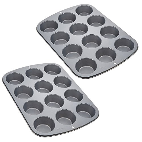 Wilton Recipe Right Muffin Pan 12-Cup Non-Stick Muffin Pan