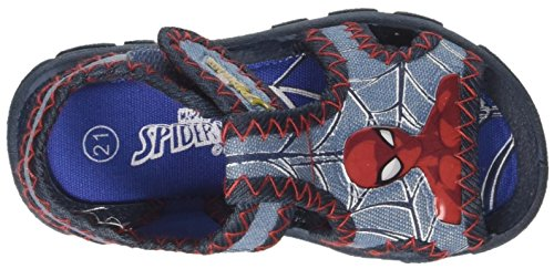 Marvel S19184z/Az, Sandalias con Punta Abierta Para Niños Blu (Jeans)